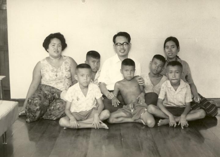 1966年タイ・アユタヤの軍人さん宅で