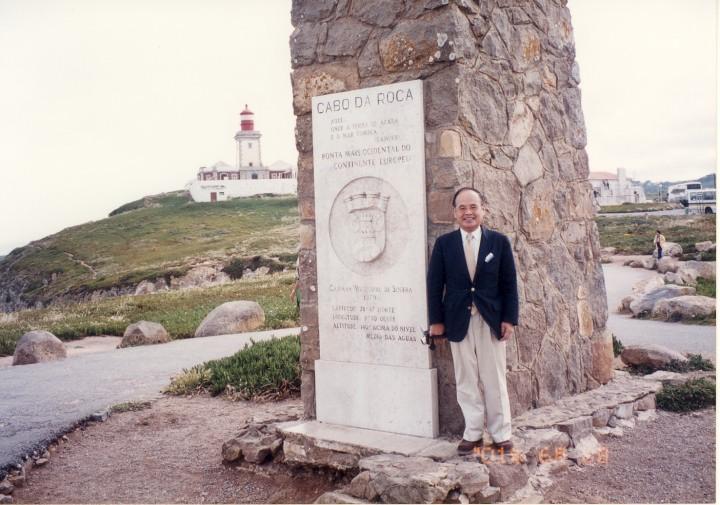 ユーラシア大陸最西端・ロカ岬