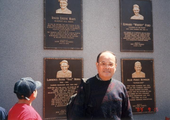ヤンキースタジアムの名選手記念碑