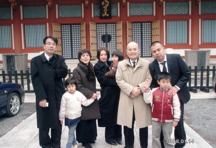 亡父七回忌 東京中野・宝仙寺