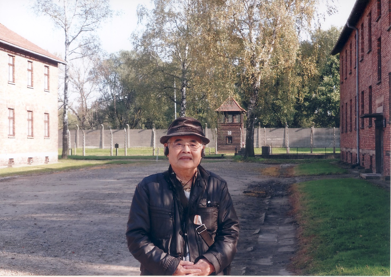 アウシュヴィッツ収容所内