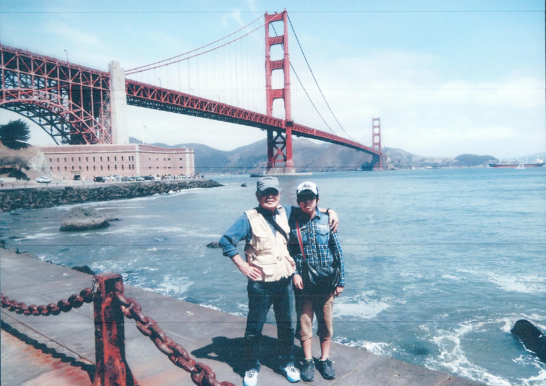 高校へ入学した孫とともにサンフランシスコへ 2015年7月