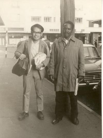 ケニヤの一人旅、ナイロビにて 1968年1月