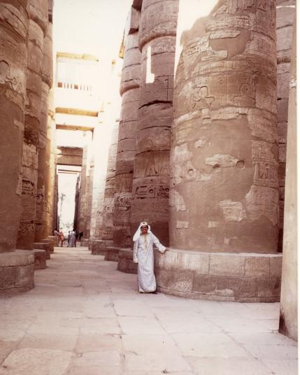 エジプト・ルクソールのカルナック神殿