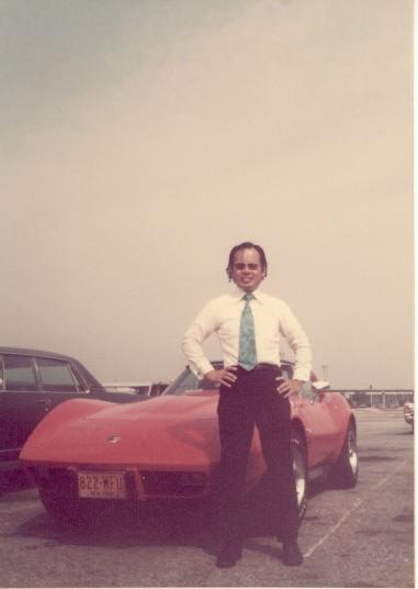 ニューヨーク在住の友人と共有していたコルベット・スティングレイ 1976年7月