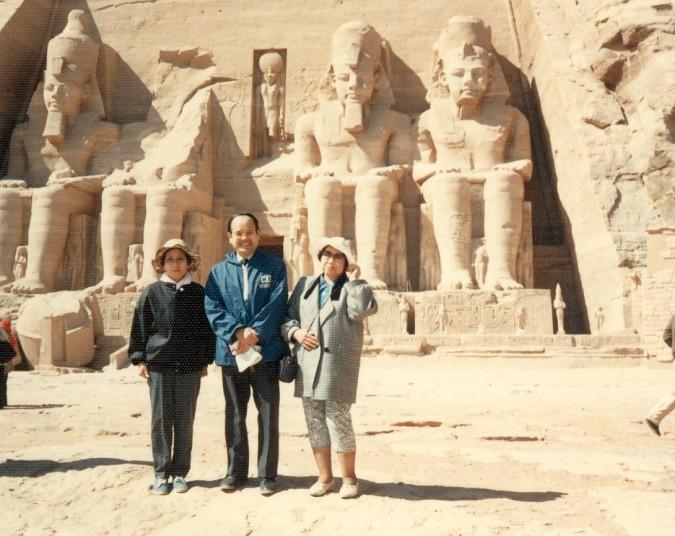 世界遺産第1号 アブシンベル神殿