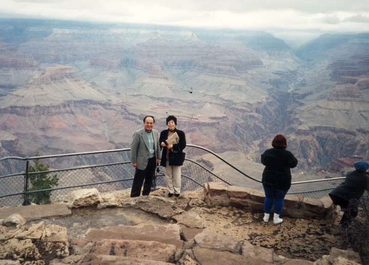 グランド・キャニオンの雄大な景色 1996年12月