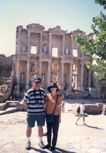 エーゲ海クルーズでトルコのエフェソス遺跡へ 1998年8月