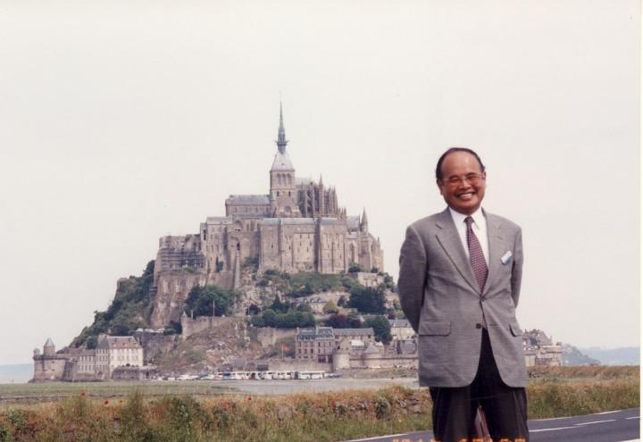 世界遺産のモン・サン・ミッシェル 2001年6月