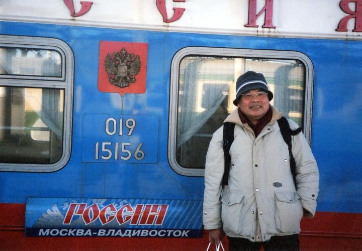 ウラジオストックからシベリア横断へ 2003年3月